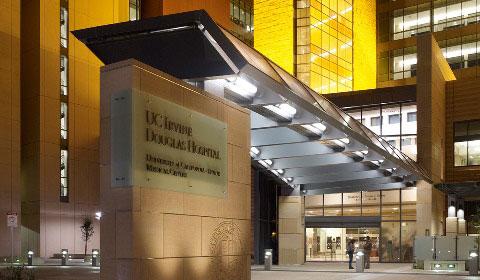 Uc irvine medical center building